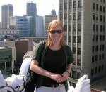 A picture of me from 2010 on the roof of the Detroit Opera House