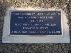 Malinda Paris Memorial