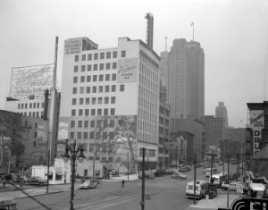 The Vernors Building in the 1940sImage from the Wayne State University Virtual Motor City Collection