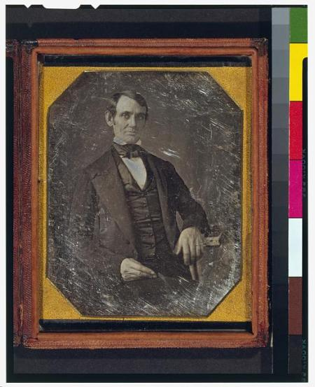Abraham Lincoln as a young Congressman, around the time he insulted Cass but gave us the best demonym ever.