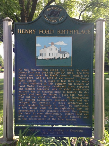 Historical Marker at the park