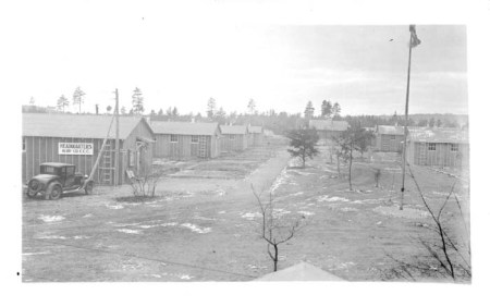 CCC Camp, 1935. Courtesy of the Forest Historical Society