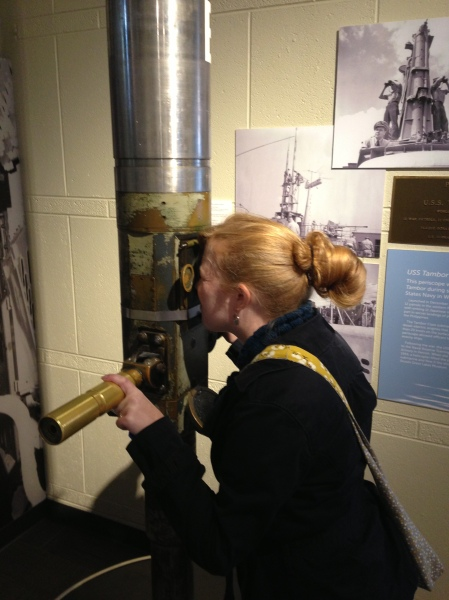 Any museum with a periscope is a good museum