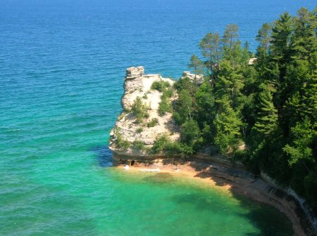 Miner's Castle - from my most recent trip to Pictured Rocks in 2009