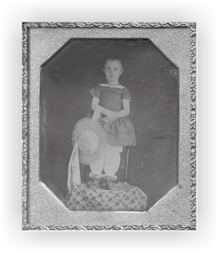 Young girl in bloomer outfit, mid 1800s (source)