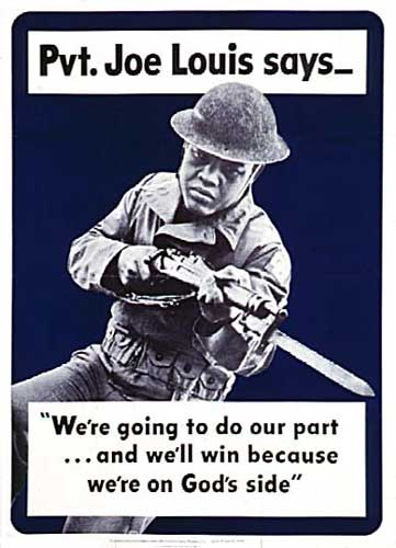 Joe Louis recruitment poster (source)