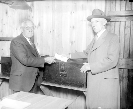 John Smith and John C. Lodge on election day